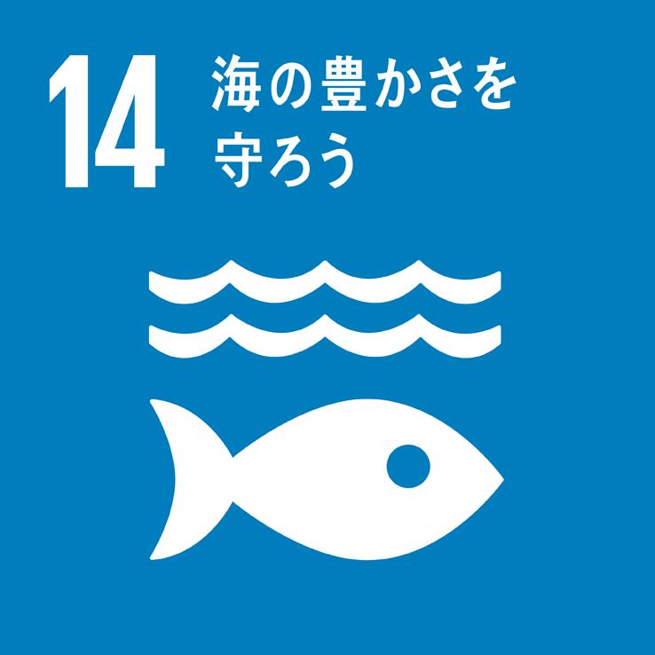 SDGs海の豊かさを守ろうのアイコン